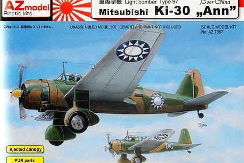 AZ Model - Mitsubishi Ki-30 'Ann' over China 1/72