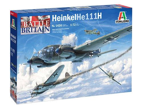 Italeri -  Heinkel He 111H - Battle of Britain 1/72