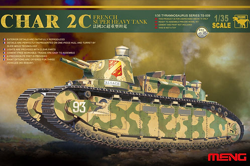 Meng Model - French Super Heavy Tank Char 2C 1/35