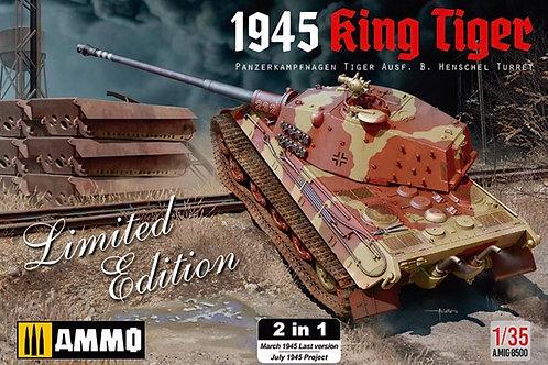 Ammo - Panzerkampfwagen Tiger Ausf.B Henschel Turret King Tiger 1945 1/35