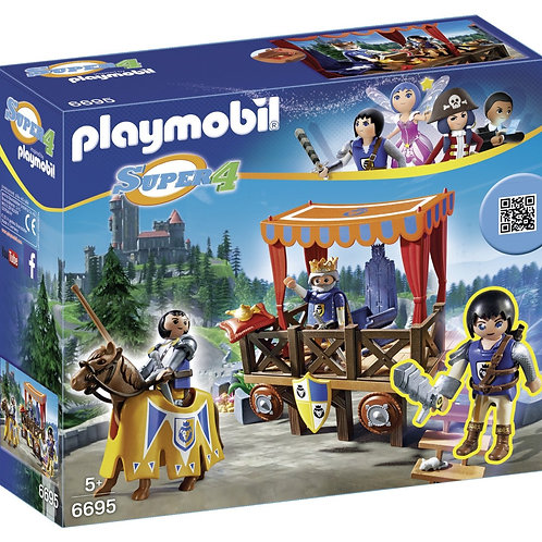 Playmobil 6695 Super 4 - King Tournament with Alex