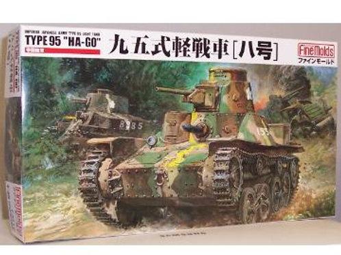 Fine Molds - IJA Light Tank Type 95 Ha-Go 1/35