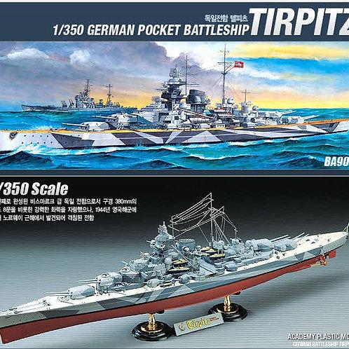 Academy - German Battleship Tirpitz 1/350