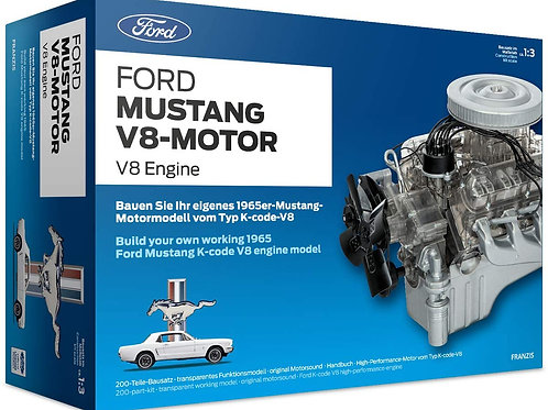 Franzis - Ford Mustang V8-Motor 1/3