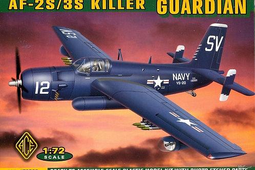 Ace - Grumman Guardian AF-2S/3S Killer 1/72