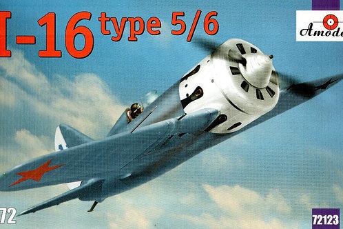 Amodel - Soviet Fighter I-16 Type 5/6 1/72