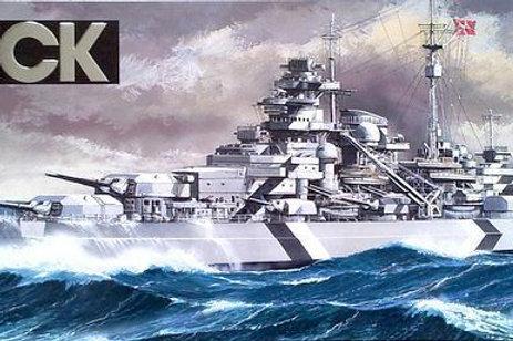 Tamiya - German Battleship Bismarck 1/350
