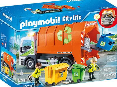 Playmobil 70200 City Life - Recycling Truck