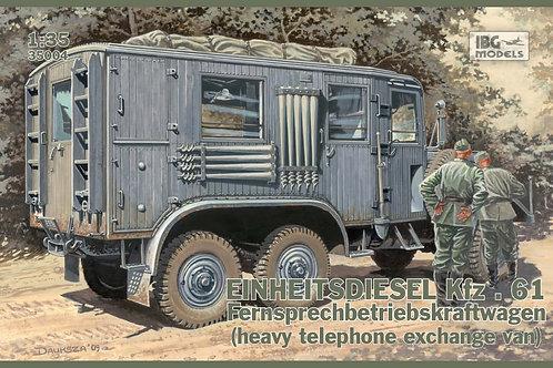 IBG Models - Einheitsdiesel Kfz.61 1/35