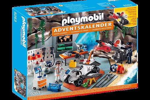 "Playmobil 9263 - Advent Calendar ""Spy Team Workshop"""