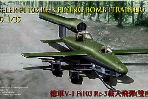 Bronco - Fieseler Fi 103 RE-3 Trainer V-1 Flying