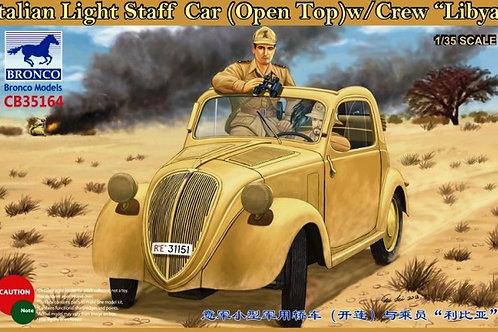 Bronco - Italian Light Staff Car (Open Top) w/Crew