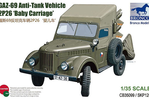 Bronco - GAZ-69 Anti-tank Vehicle 2P26 Baby