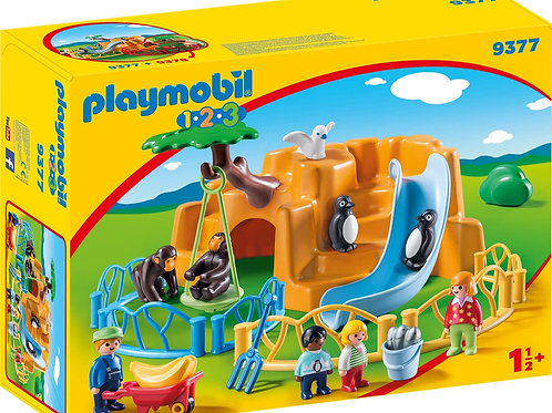 Playmobil 9377 1.2.3 - Zoo
