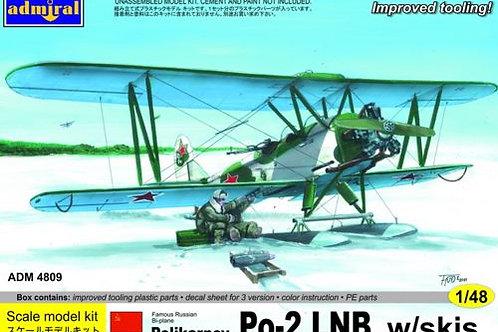 Admiral - Polikarpov Po-2 LNB w/skis 1/48