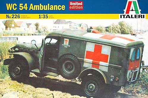 Italeri - US Ambulance Dodge WC 54 1/35