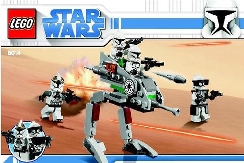 Lego 8014 Star Wars - Clone Walker Battle Pack
