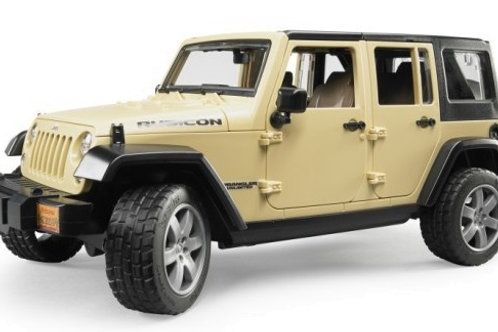 Bruder 02525 - Jeep Wrangler Unlimited Rubicon 1/16