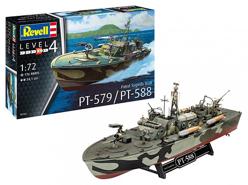 Revell - Patrol Torpedo Boat PT-588/PT-57 1/72