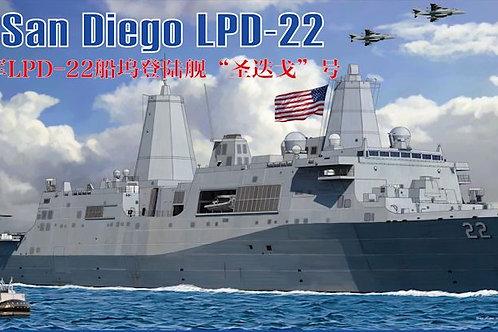 Bronco - LPD-22 USS San Diego 1/350