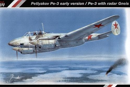 Special Hobby - Petlyakov Pe-3 early/radar Gneis 2