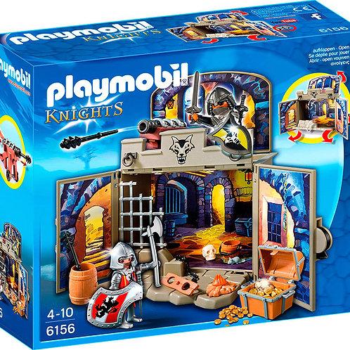 Playmobil 6156 Knights - My Secret Knights' Treasure Room Play Box