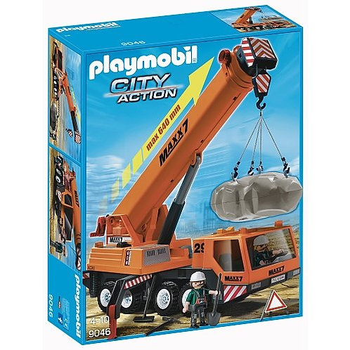 Playmobil 9046 City Action - Mobiler Schwerlast-Kran