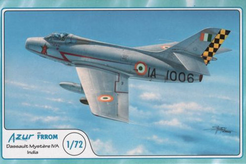 Azur - Dassault Mystere IVA Indian Air Force 1/72