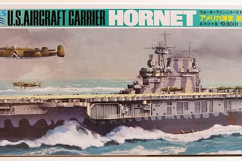Tamiya - U.S. Navy Aircraft Carrier Hornet 1/700
