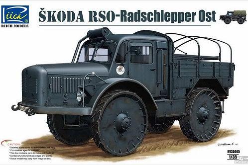 Riich Models - Škoda RSO-Radschlepper Ost 1/35