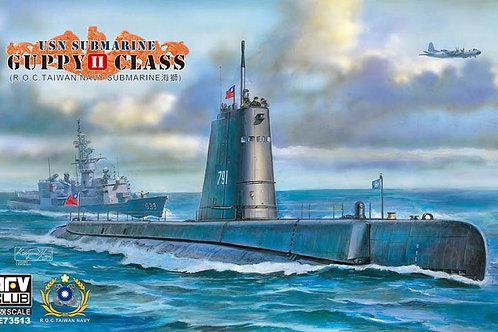 AFV Club - USN Submarine Guppy II Class 1/350