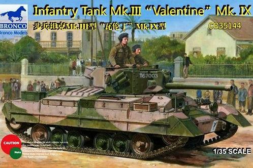 Bronco - Infantry Tank Mk. III Valentine Mk. IX