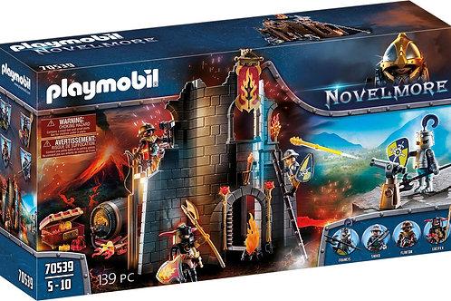 Playmobil 70539 Novelmore - Burnham Raiders Fire Ruin