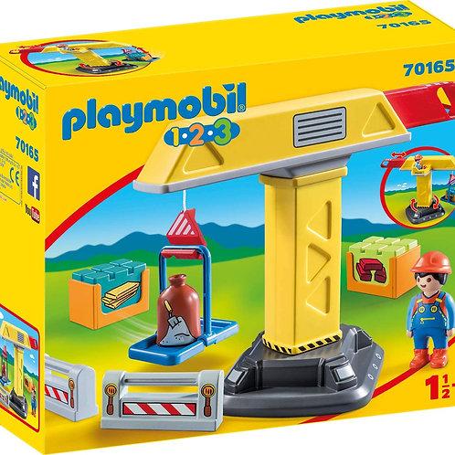 Playmobil 1.2.3. 70165 - Construction Crane