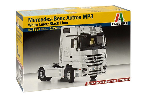 Italeri - Mercedes-Benz Actros MP3 1/24