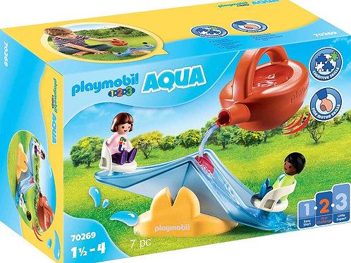 Playmobil 70269 1.2.3 Aqua - Aqua-Water Seesaw