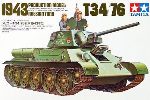 Tamiya - T-34/76-1943 Russian Medium Tank 1/35