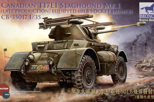 Bronco - Canadian T17E1 Staghound Mk.I Late Prod.