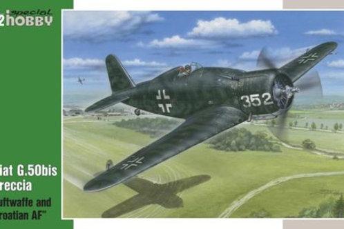 Special Hobby - Fiat G.50bis Luftwaffe 1/32