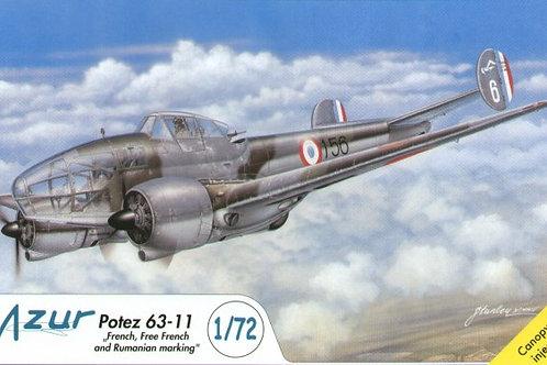 Azur - Potez 63-11 1/72