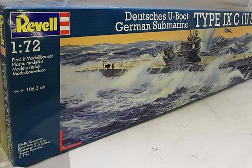Revell - German Submarine Type IX C (U505 late)