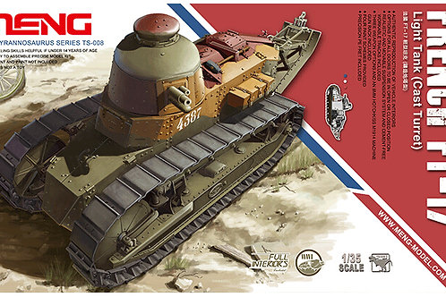 "Meng Model - French FT-17 Light Tank ""Cast Turret"" 1/35"