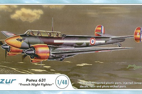 Azur - French Night Fighter Potez 631 1/48