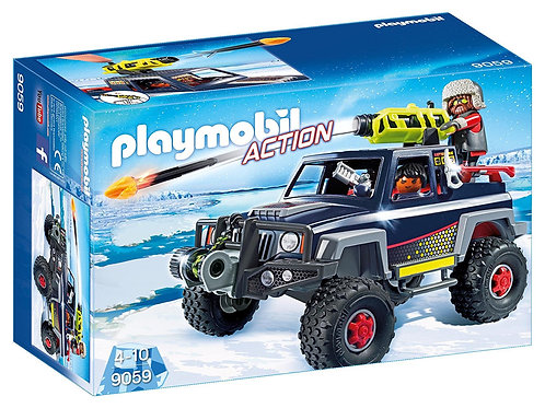Playmobil 9059 Action - Ice Pirates with Snow Truck
