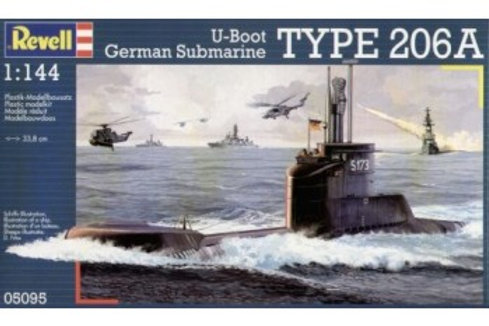 Revell - German Submarine Type 206 A 1/144