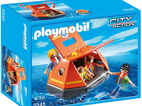 Playmobil 5545 City Action - Coastguard Life Raft