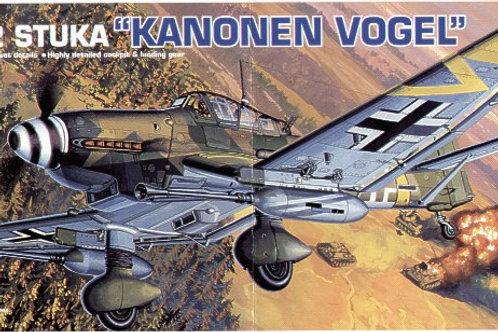 Academy - Junkers Ju 87G-2 'Stuka' Kanonen Vogel 1/72