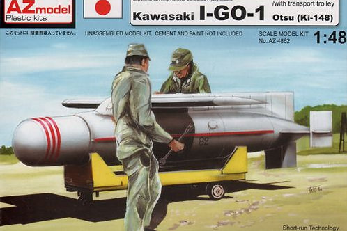 AZ Model - Kawasaki I-GO-1 Otsu (Ki-149) 1/48