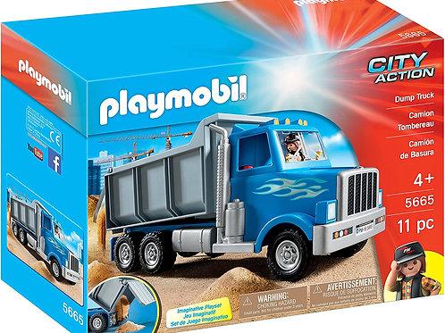 Playmobil 5665 City Action - Dump Truck