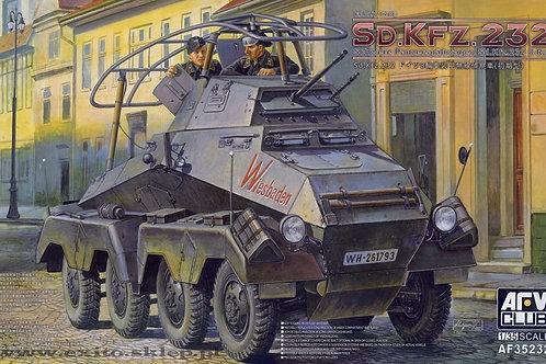 AFV Club - Sd.Kfz.232 8-Rad Schwere Panzerspähwagen Early Prod. 1/35